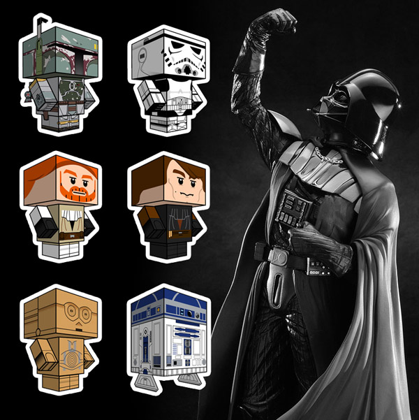 Make your own Star Wars Star Wars Characters Art